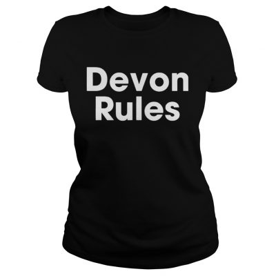 The Devon Rules Shirt Classic Ladies Tee