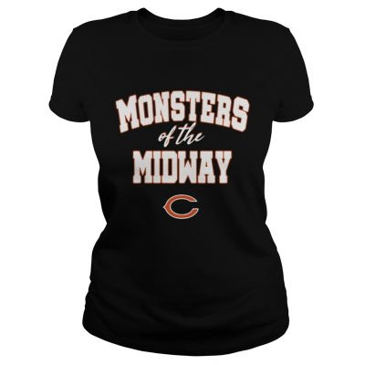 Chicago Bears Monsters Of The Midway Shirt 2018 Classic Ladies Tee