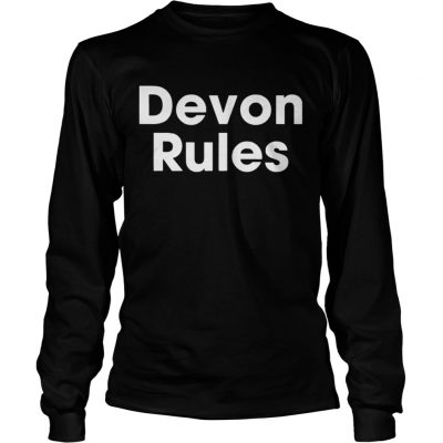 The Devon Rules Shirt Longsleeve Tee Unisex