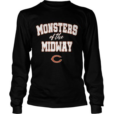 Chicago Bears Monsters Of The Midway Shirt 2018 Longsleeve Tee Unisex