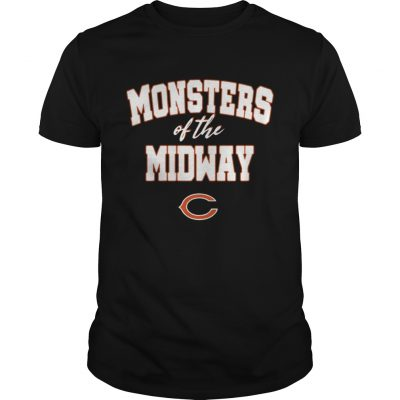 Chicago Bears Monsters Of The Midway Shirt 2018