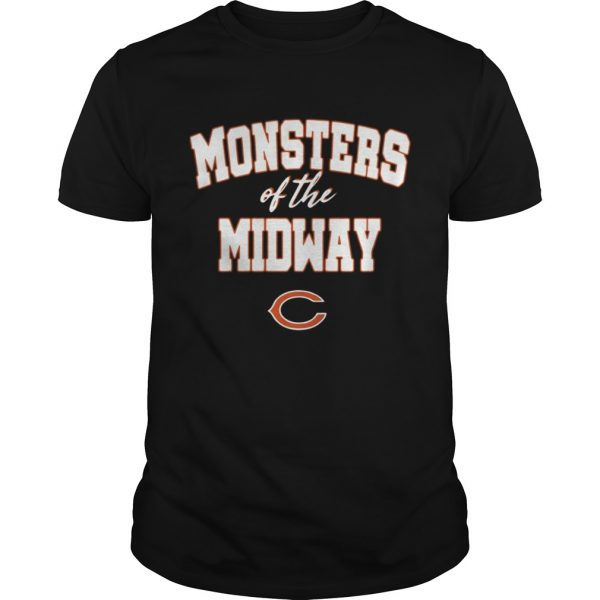 Chicago Bears Monsters Of The Midway Shirt 2018 Shirt