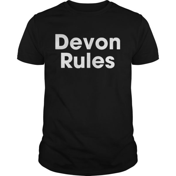 The Devon Rules Shirt Shirt