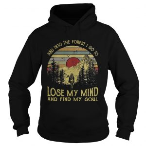 And into the forest I go to lose my mind and find my soul shirt Ladies V-Neck