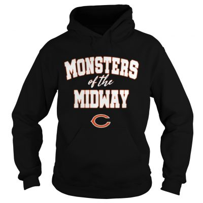 Chicago Bears Monsters Of The Midway Shirt 2018 Ladies V-Neck