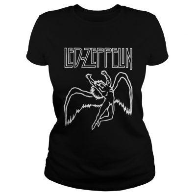 Led zeppelin Let the music be your master shirt Classic Ladies Tee