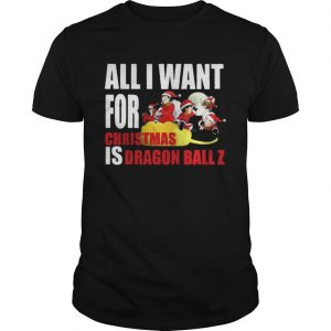 All I For Christmas Is Dragon Ball Z Sweater Shirt