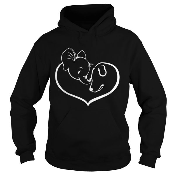 Easily distracted by elephants and dogs shirt Hoodie