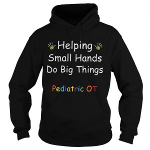 Helping Small Hands Do Big Things Pediatric OT hoodie