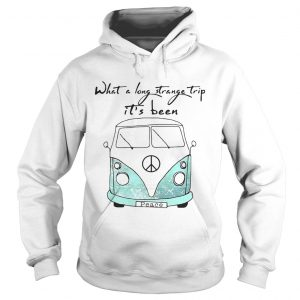 What a long strange trip its been Hippie hoodie