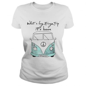 What a long strange trip its been Hippie ladies tee