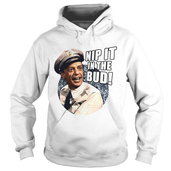 Andy Griffith Icon Nip It Adult  Hoodie