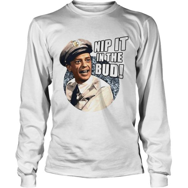 Andy Griffith Icon Nip It Adult  LongSleeve