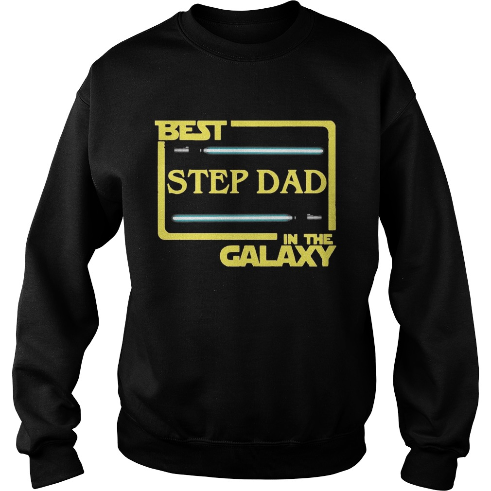 062c1b61 Best Step Dad In The Galaxy T-shirt - Funny T-Shirts Store Online