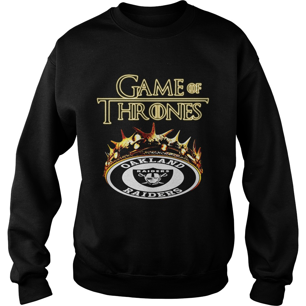 New Game of Thrones Oakland Raiders mashup shirt Funny T Shirts Store