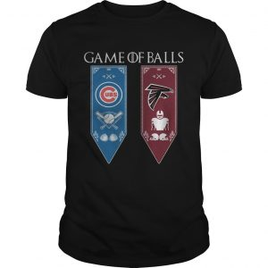 Game of Thrones game of balls Chicago Cubs and AtlantGame of Thrones game of balls Chicago Cubs and Atlanta Falcons unisex Falcons unisex