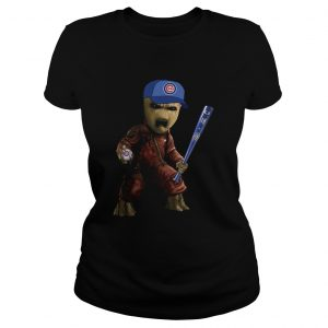 Groot I Am Chicago Cubs Shirt Classic Ladies