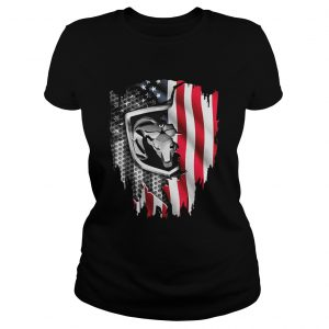 Independence Day 4th of July Dodge Ram Head America Flag  Classic Ladies