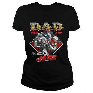 Jazz Fathers Day Transformers ladies tee