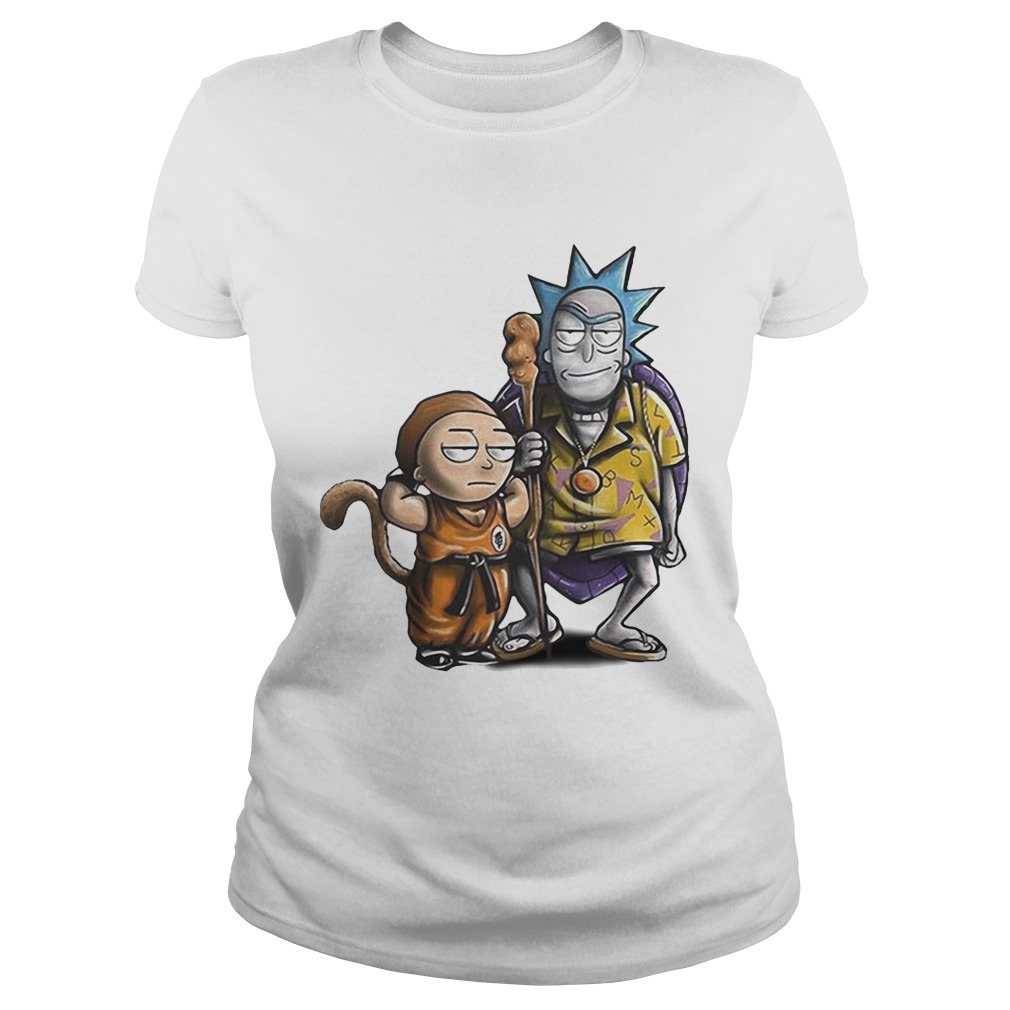 71bd5912 Rick and Morty Dragon Ball shirt - Funny T-Shirts Store Online