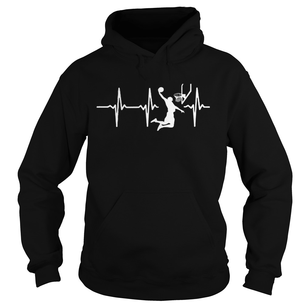 Basketball In My Heart Heart Beatketball Shirt Hoodie