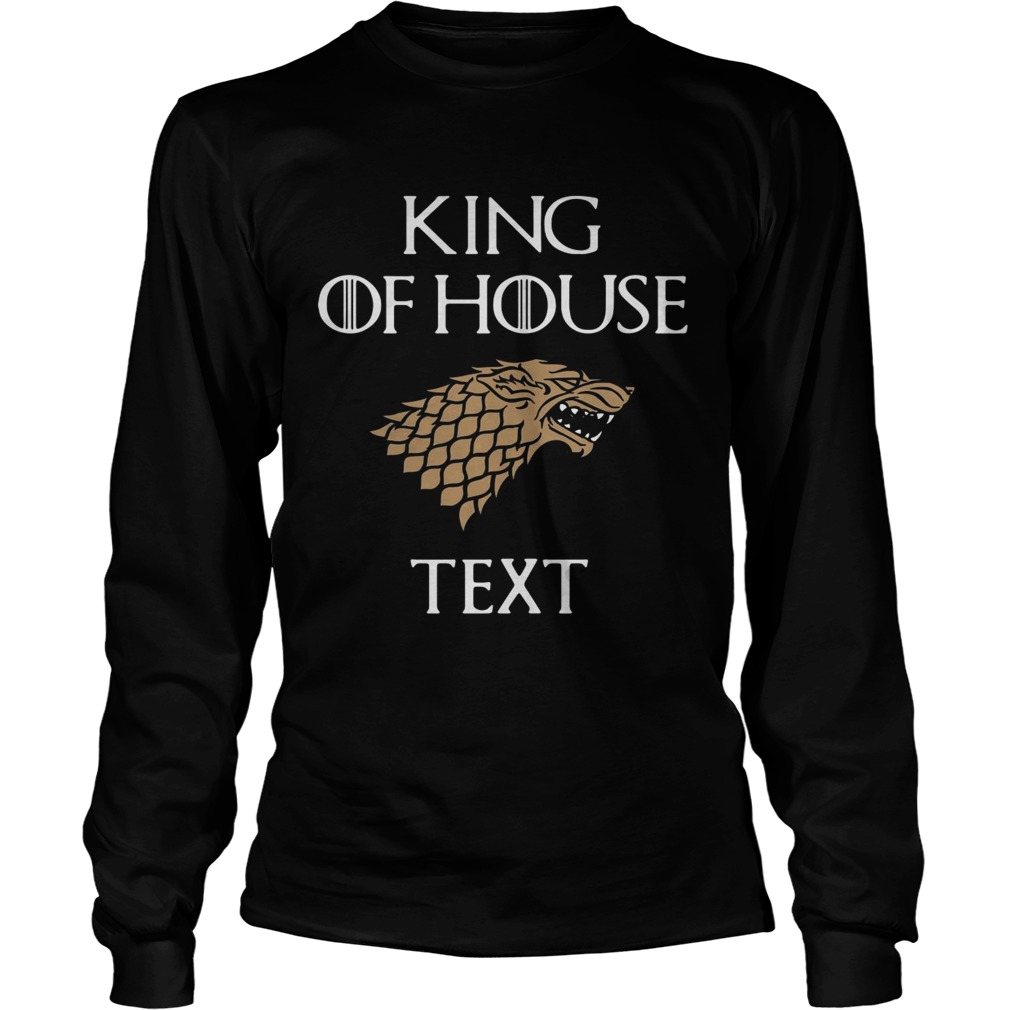 Game of Thrones king of house cruise  LongSleeve