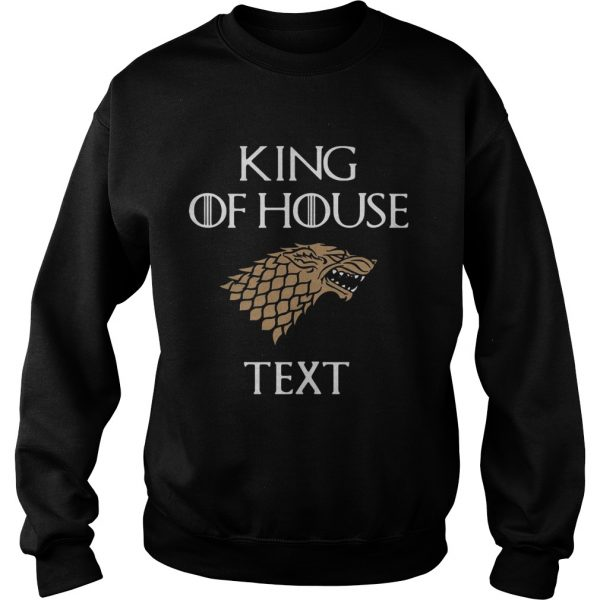 Game of Thrones king of house cruise  Sweatshirt