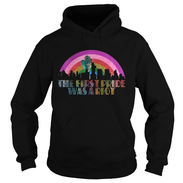 LGBT The first pride was a riot  Hoodie