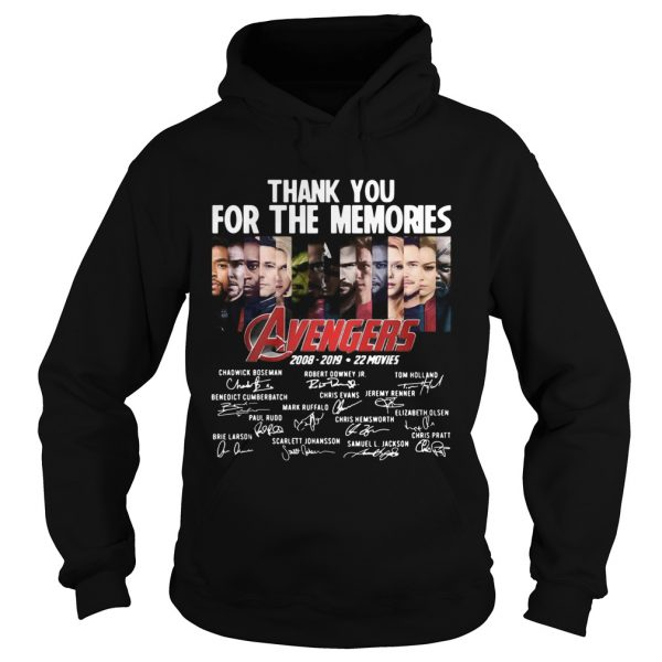 11 years of Avengers thank you for the memories  Hoodie