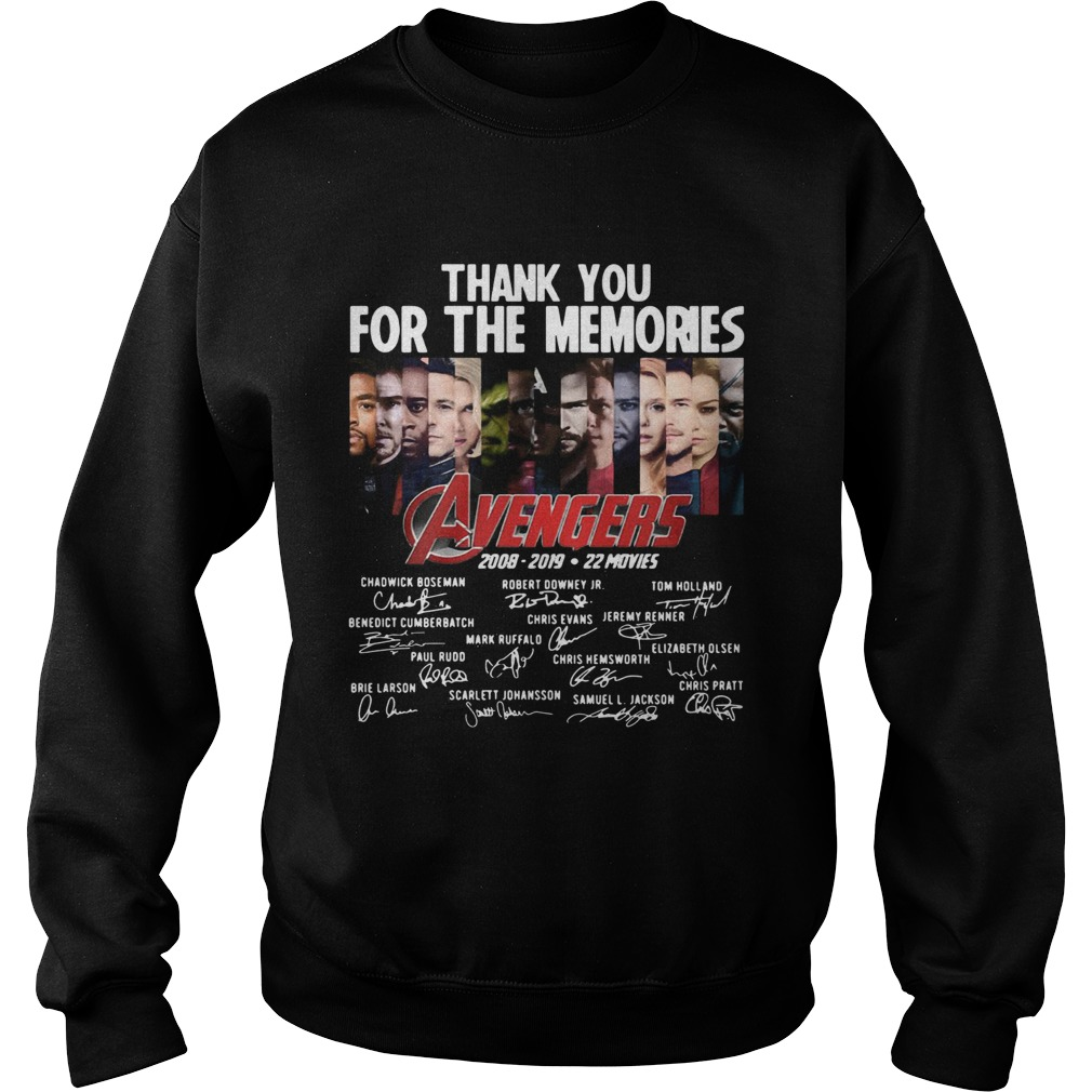 11 years of Avengers thank you for the memories  Sweatshirt