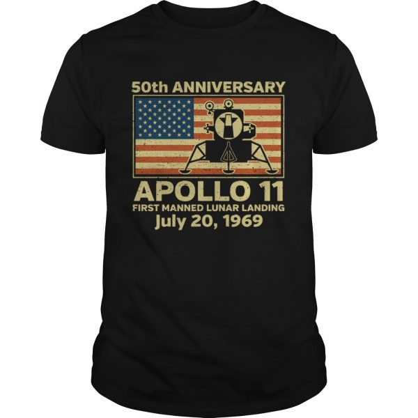 American flag apollo 11 first manned lunar landing July 20 1969  Unisex