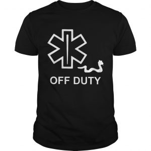 EMT Decal off duty  Unisex