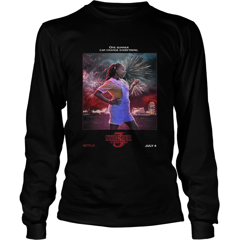 Erica One Summer Can Change Everything Stranger Things  LongSleeve