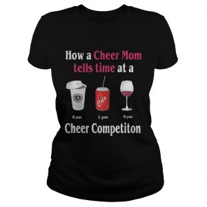 How a Cheer Mom tells time at a Cheer Competiton  Classic Ladies