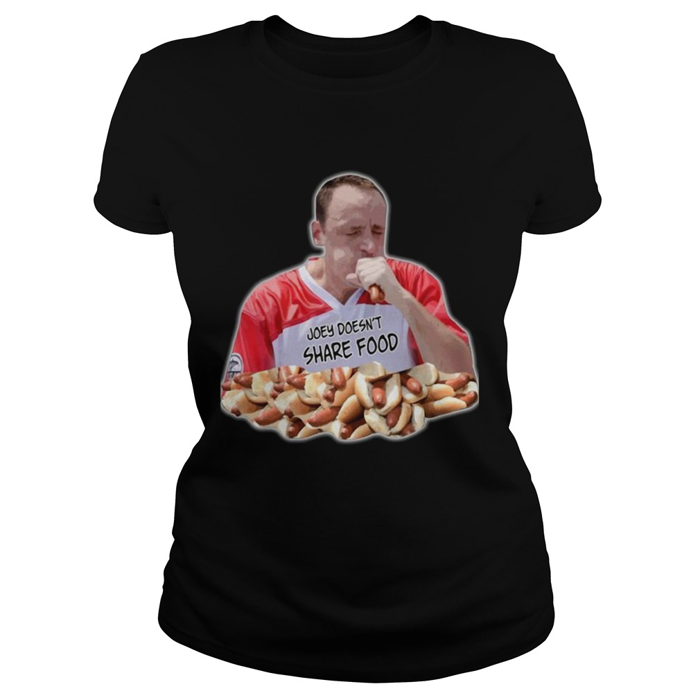 Joey Chestnut Joey doesnt share food  Classic Ladies