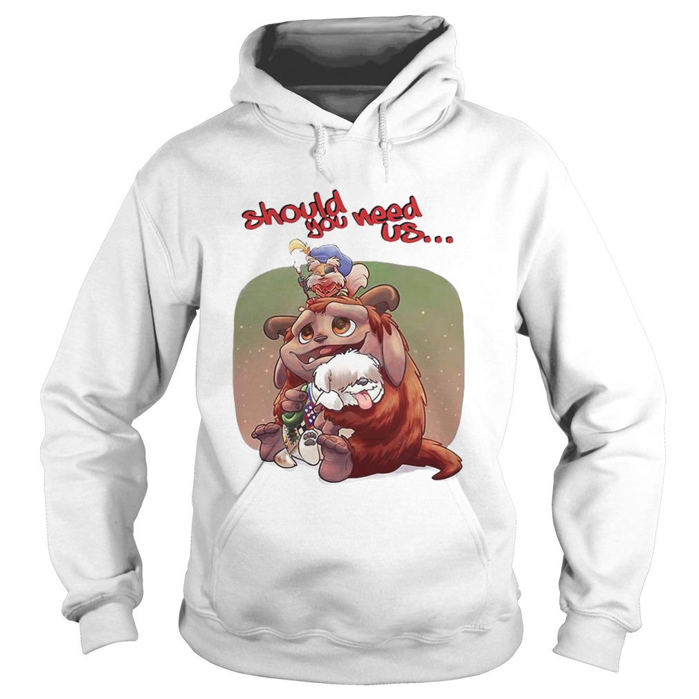 Labyrinth Should you need us  Hoodie