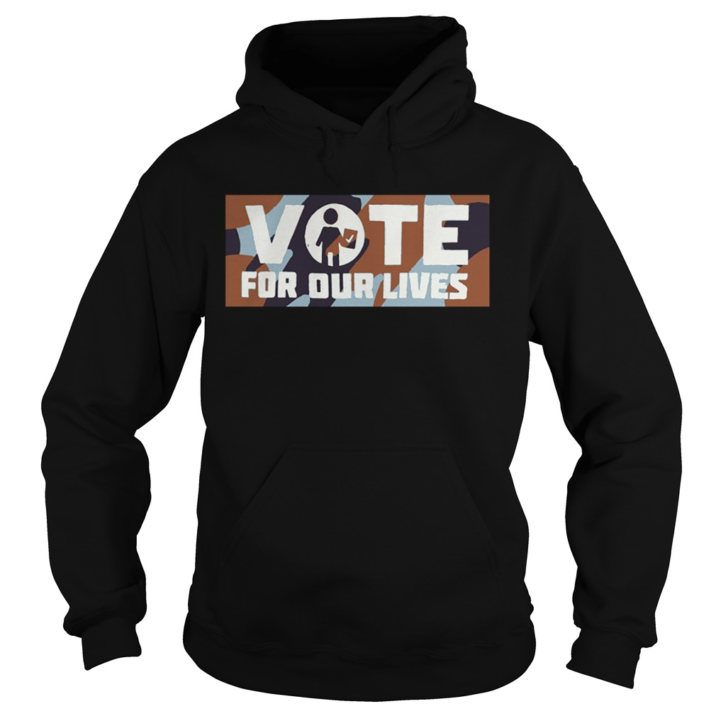 Warriors Steve Kerr vote for our lives  Hoodie