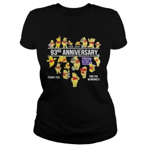 19262019 93rd anniversary Winnie the Pooh thank you for the memories  Classic Ladies
