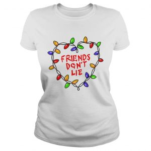 Friends dont lie Stranger Things Christmas Light Wall  Classic Ladies