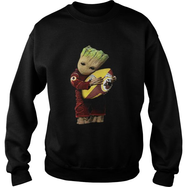 Groot hug Washington Redskins ball  Sweatshirt
