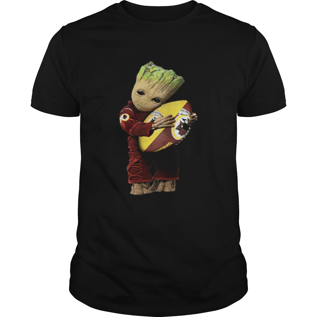 Groot hug Washington Redskins ball  Unisex