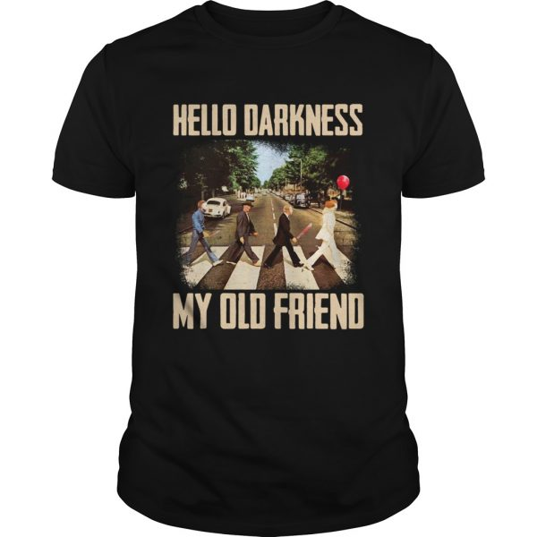 Horror character movie abbey road hello darkness my old friend  Unisex
