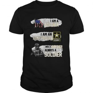 I am a soldier i am an army veteran USArmy once a soldier  Unisex