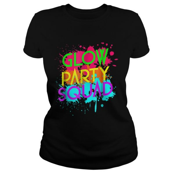 Awesome Glow Party SquadNeon Effect Group Halloween  Classic Ladies