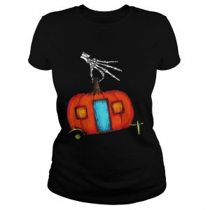 Beautiful Happy CampOWeen Funny Camping Halloween Gifts  Classic Ladies