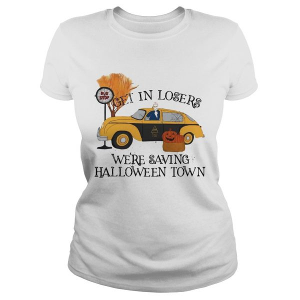 Benny Taxi Driver Get in losers were saving Halloweentown  Classic Ladies