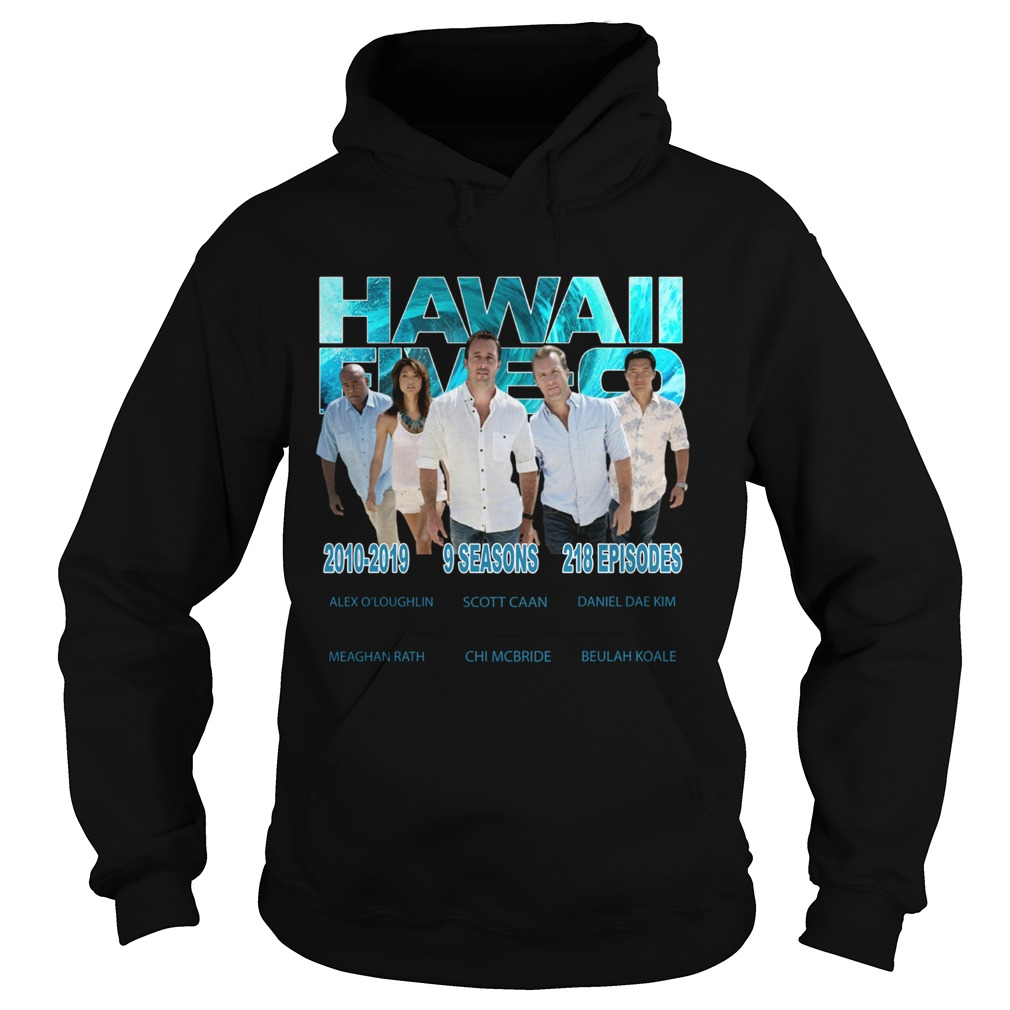 Hawaii Fiveo 2010 2019 9 seasons 218 episodes  Hoodie