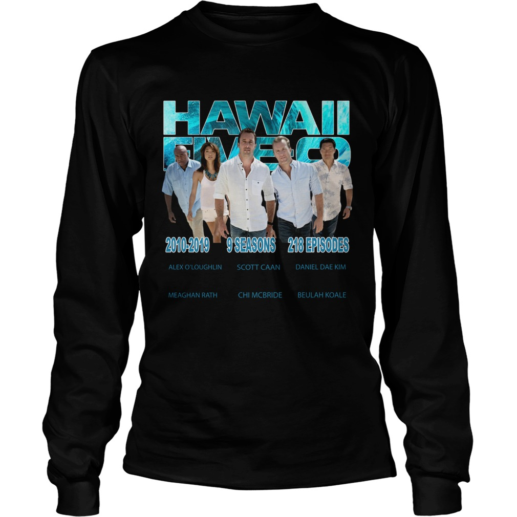 Hawaii Fiveo 2010 2019 9 seasons 218 episodes  LongSleeve
