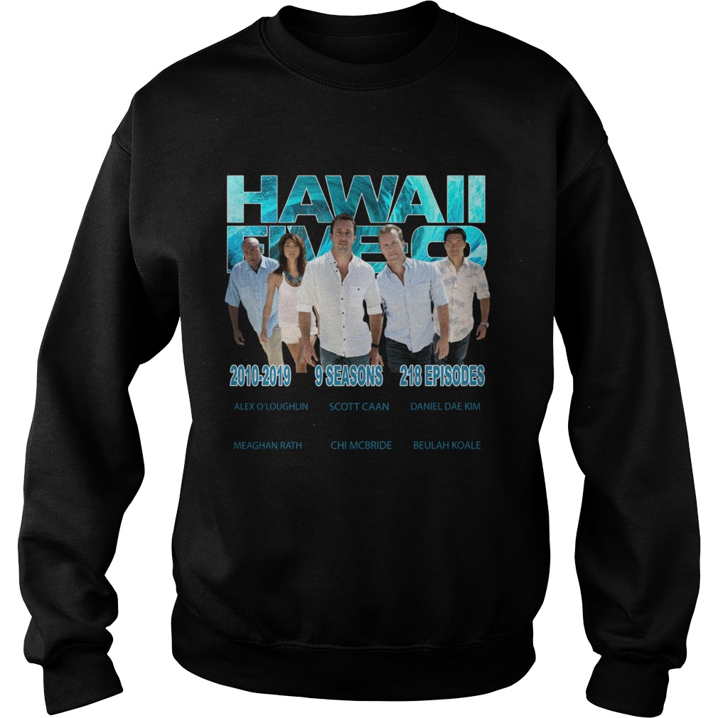 Hawaii Fiveo 2010 2019 9 seasons 218 episodes  Sweatshirt