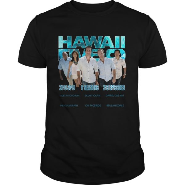 Hawaii Fiveo 2010 2019 9 seasons 218 episodes  Unisex